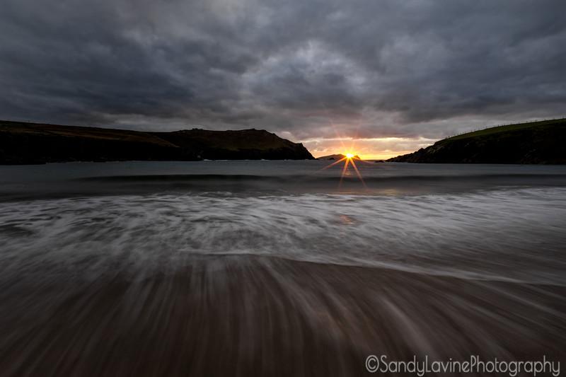 Sunset on the Beach County Cork