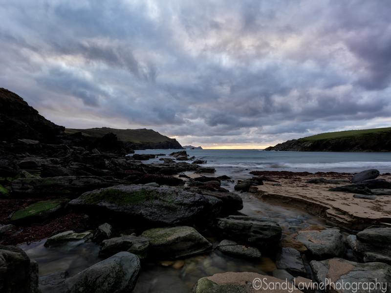 Sunset on a County Cork Beach