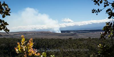 Kīlauea from a distance
