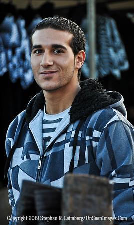 Handsome Young Man in Druze Market web