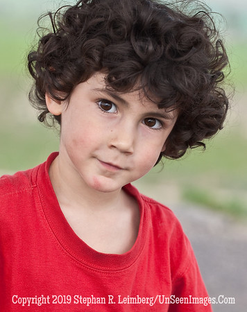Boy with Curley Hair web
