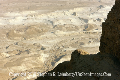 Looking Down from Massada web
