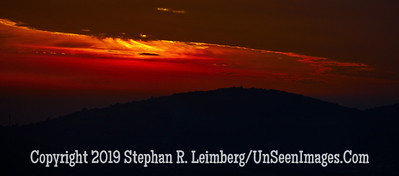 Sunset Looking out from Safed web