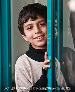 Boy in Doorway web