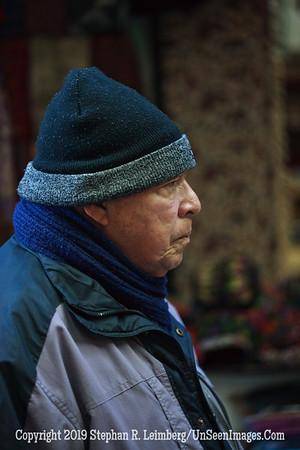 Man in Suk Opposite Beed Shop