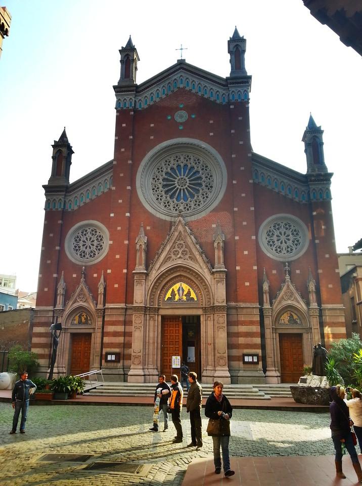 Istanbul catholic church