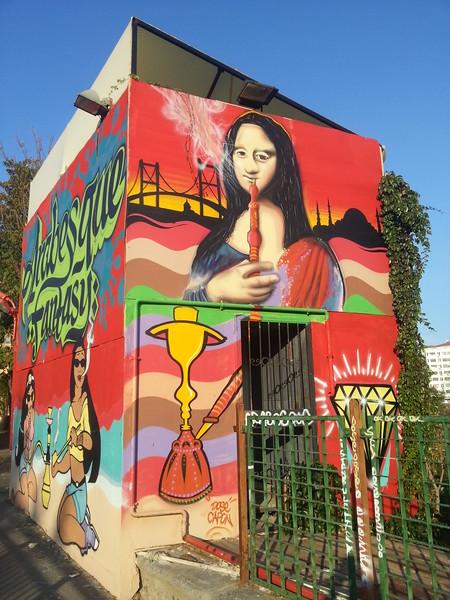 Istanbul graffity