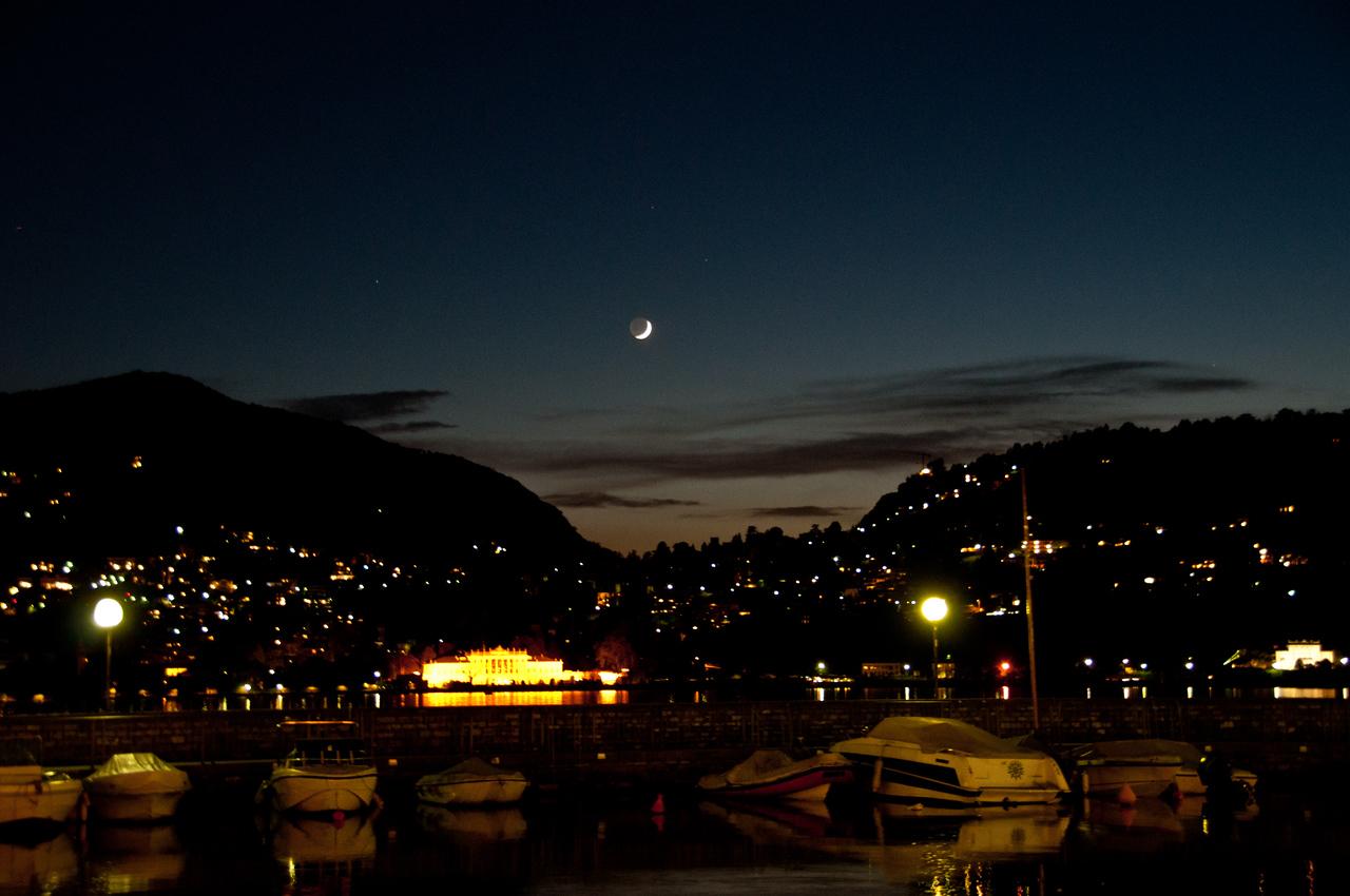 Our last night at Lake Como.