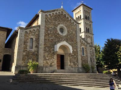 Church of San Salvatore in Castellina in Chianti.