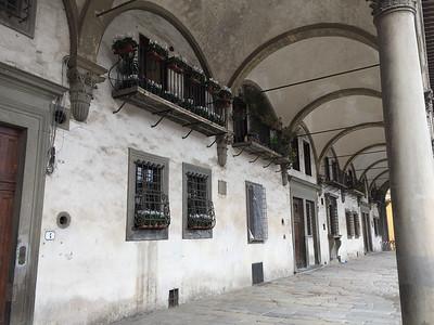 Loggiato dei Serviti hotel in Florence.