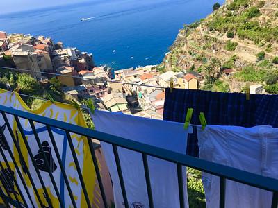 Our Italian laundromat.