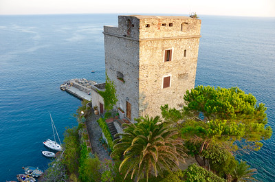 Part of the Church of San Francesco - Capuchin Friars Monastery. Monterosso al Mare.