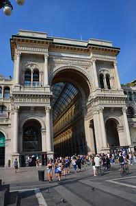 Galleria Vittorio Emanuele II. Milan