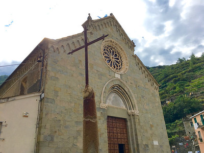 Chiesa di San Lorenzo. Manarola
