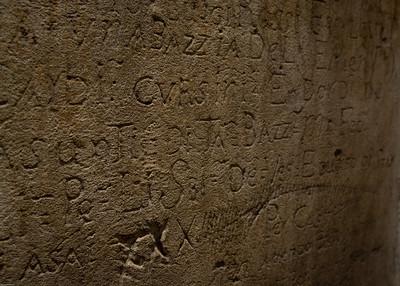 Original Gefängnis-Graffiti / original wall graffiti of the prison cells