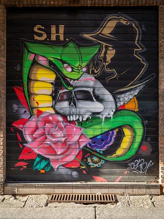 Modernes Graffiti / modern graffiti