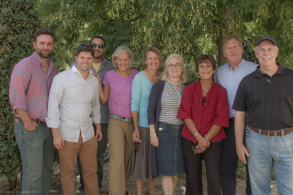 Oh my...so here we again from left to right: Phil, Mike, Dan, me, Lisa, Marina (from Thompson International Marketing), Marina Colonna (from Olive Oil heaven), Art and Craig.