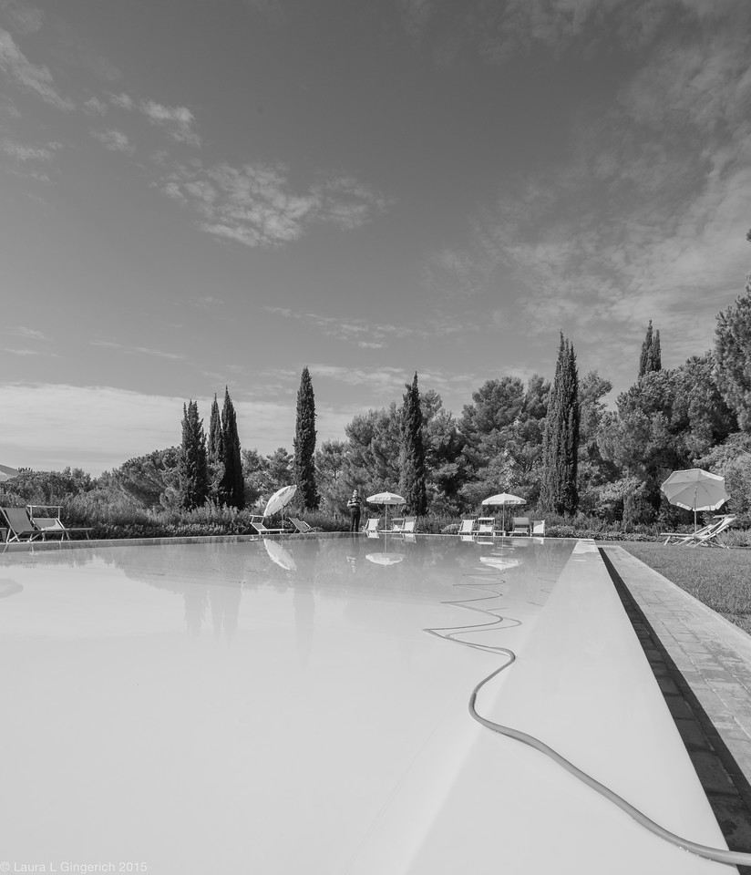 Fattoria di Magliano is not just a vineyard! It is also a quaint resort with 30 guest rooms and yes, a beautiful swimming pool overlooking the hills.