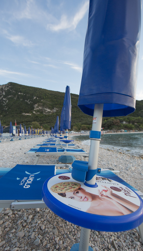 Italians know how to do the beach.