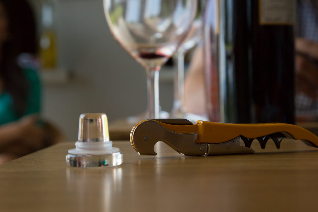 "...the glass cork is special but will the ""juice"" measure up?"
