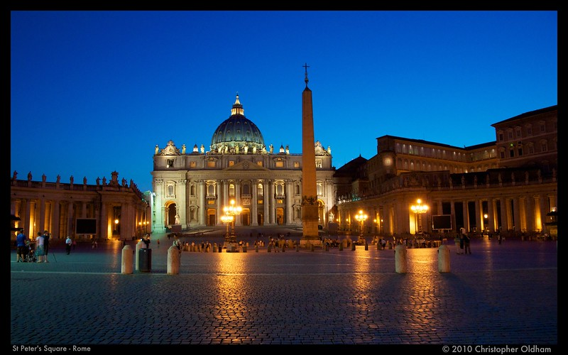 St Peter's Square - Rome