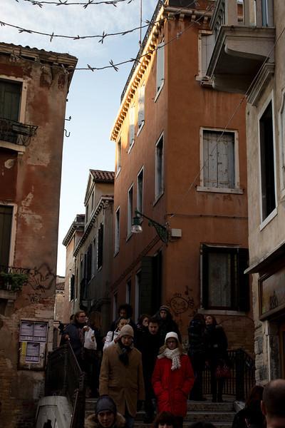 Italy, Venice, Main Alleyway SNM