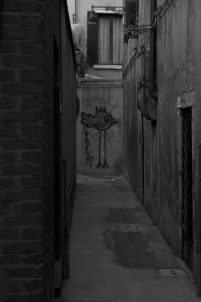 Italy, Venice, Chicken Graffiti SNM