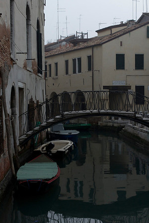 Italy, Venice, Canal and Bridge SNM