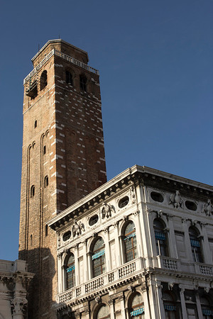Italy, Venice, Tower and Building SNM