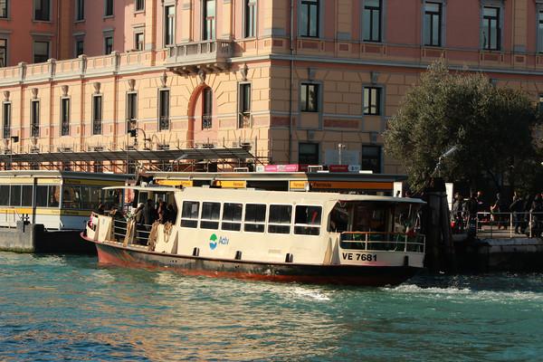 Italy, Venice, ACTV Water Bus (Vaporetto)