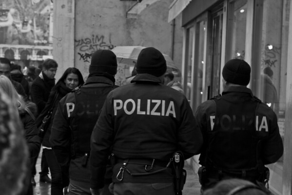 Italy, Venice, Police SNM