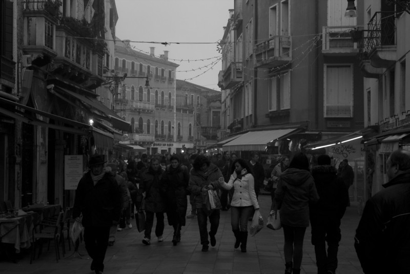 Italy, Venice, Street SNM