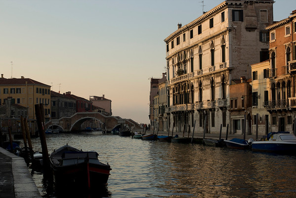 Italy, Venice, Canal and Buildings SNM