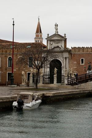 Italy, Venice, Street Scene SNM
