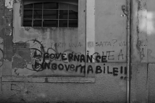 Italy, Venice, Graffiti SNM