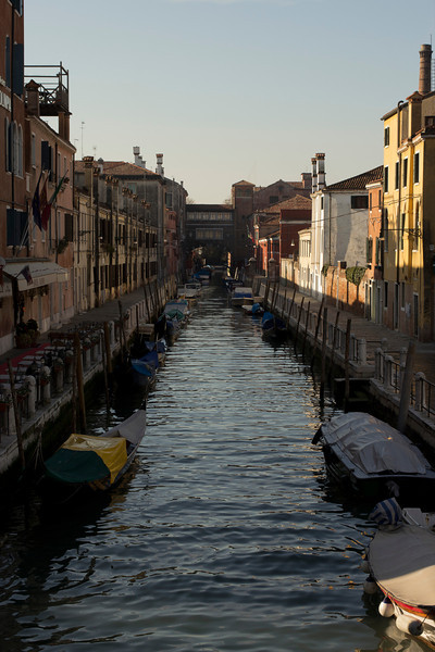 Italy, Venice, Canal from Bridge SNM
