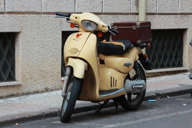 Italy, Verona, Scooter