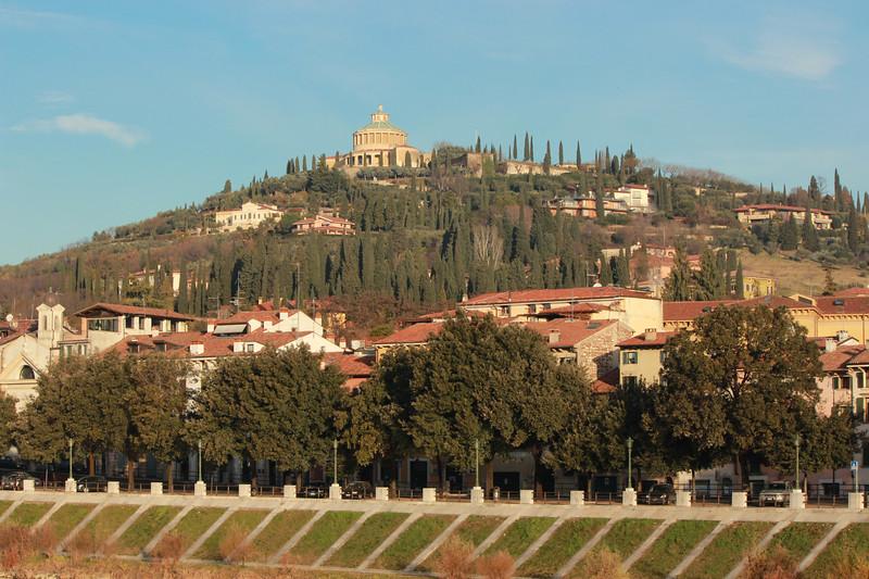 Italy, Verona, Santuario di Nostra Signora di Lourdes