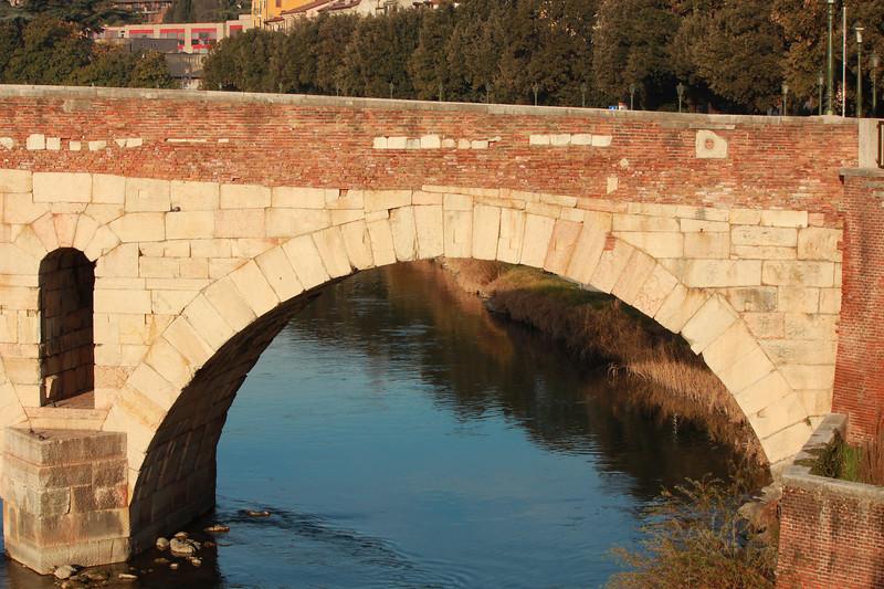 Italy, Verona, Ponte Pietra