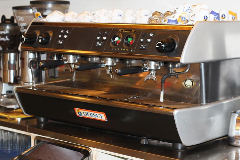 Italy, Verona, Coffee Machine