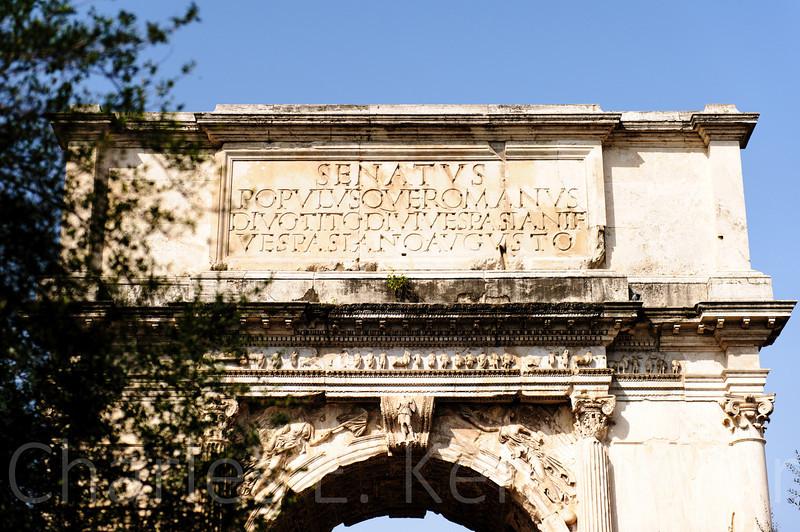 """Arch of Septimius Severus<br /> <br />  <a href=""""http://en.wikipedia.org/wiki/Arch_of_Septimius_Severus"""">http://en.wikipedia.org/wiki/Arch_of_Septimius_Severus</a>"""