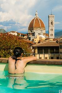 Florencia desde nuestro hotel