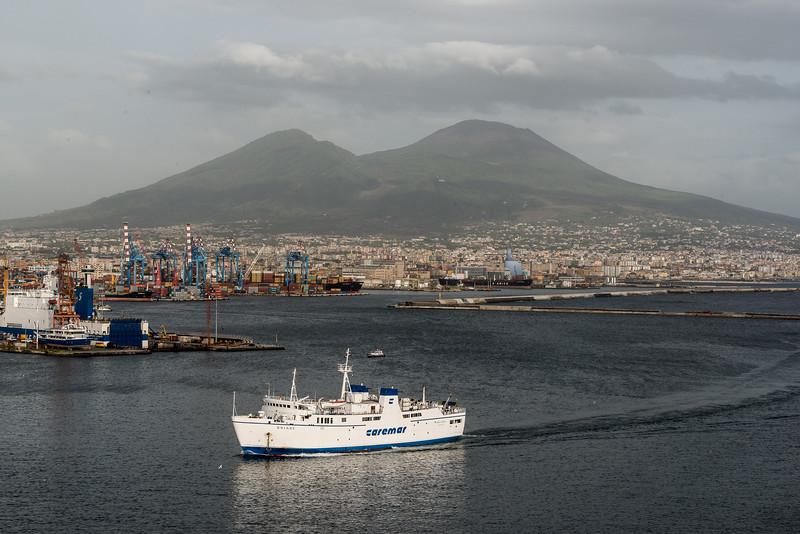 405-8155 Naples and Mount Vesuvius, September 17, 2013