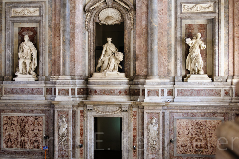Statuary in the main entrance