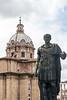 368-6041 Julius Cesar and Chiesa dei Santi Luca e Martina, Rome, September 10, 2013