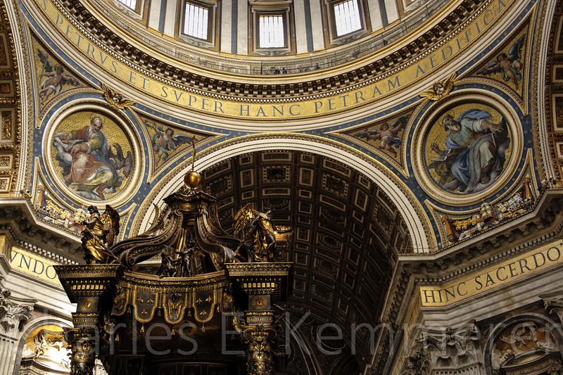Inside St. Peter's