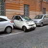 Italian way to park cars.