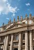 360-5526 Facade of St Peter's Basilica, Vatican City, September 09, 2013