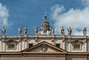 360-5533 Facade of St Peter's Basilica, Vatican City, September 09, 2013