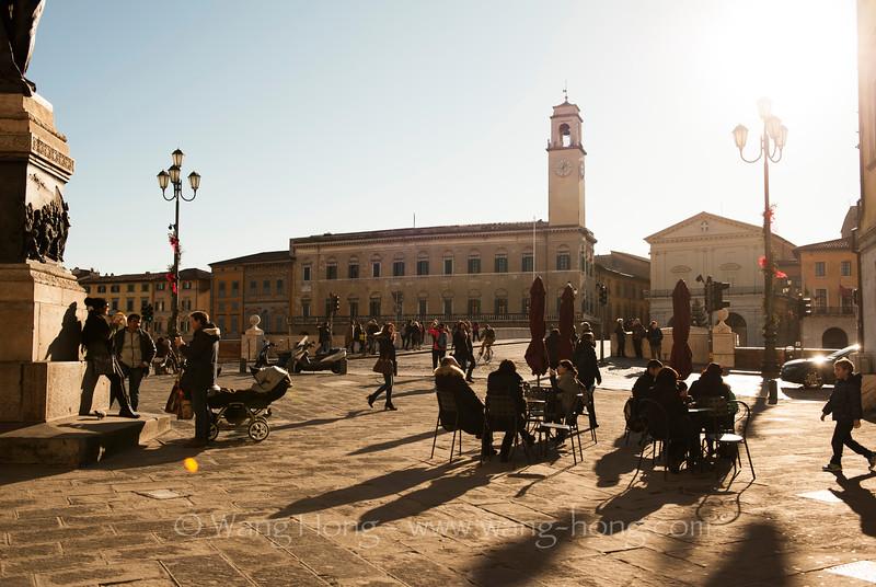 In Pisa.
